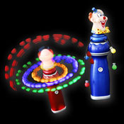 LED MEGA CIRCUS WIRBLER CLOWN