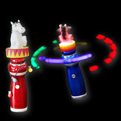 LED MEGA CIRCUS SPINNING LIGHT HORSE