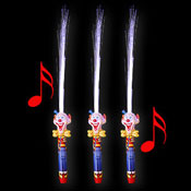 LED MAGIC STICK CLOWN MET GELUID