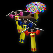 LED DUPLEX SPINNER ELEPHANT