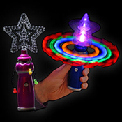 LED MEGA SPINNING LIGHT CRYSTAL STAR