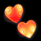 Magnetic Blinky red Heart