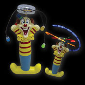 LED WIRBLER COMIC CLOWN