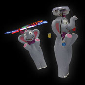 LED WIRBLER COMIC ELEFANT