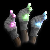 LED GLOVE FLASHY FINGERS