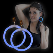 MOTL MAXI EARRINGS BLUE
