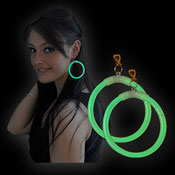 MOTL MAXI EARRINGS GREEN