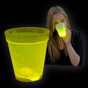 TUMBLER GLOW CUP 250ml YELLOW