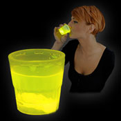 SHOT GLOW CUP 50ml YELLOW
