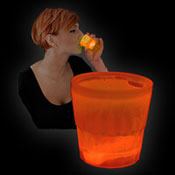 SHOT GLOW CUP 50ml ORANGE