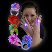 LED CRYSTAL RING RAINBOW