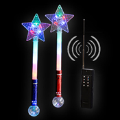 LED PRISMA BALL STAR WAND  remote control