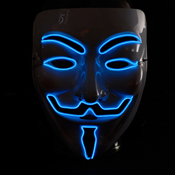 Masque lumineux ANONYMOUS