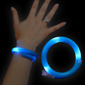 LED WRAPPED BRACELET BLUE