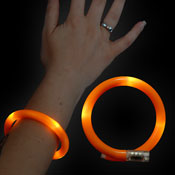 LED WRAPPED BRACELET ORANGE