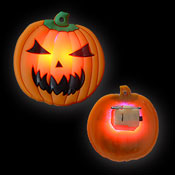 LED JELLY BUTTON PUMPKIN