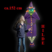 LED HALLOWEEN DECORATION FIGURINE HILDE