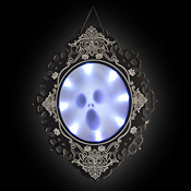 LED HALLOWEEN DECORATION MIRROR GHOST