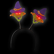 LED HALLOWEEN HEADGEAR WITCH